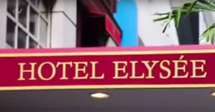 Welcome to the Hotel Elysée in NYC