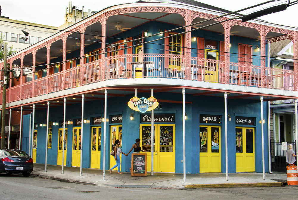 Bourbon Street Isnt The Only Major For Nightlife In New Orleans Frenchmen Located Just Outside Quarter Faubourg Marigny