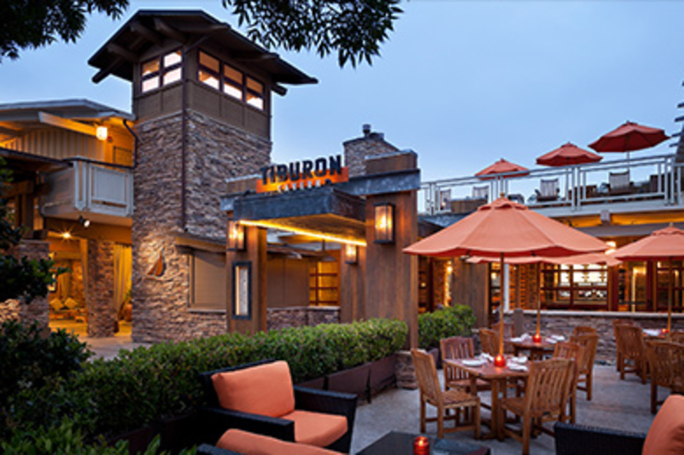 Tiburon Tavern at dawn