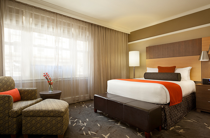 Deluxe Queen Rooms near Union Square | Hotel Abri