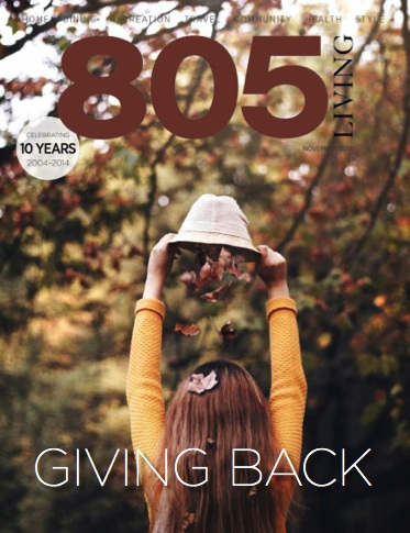 805 Living Magazine Cover
