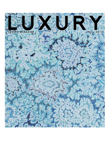 Luxury Magazine Cover