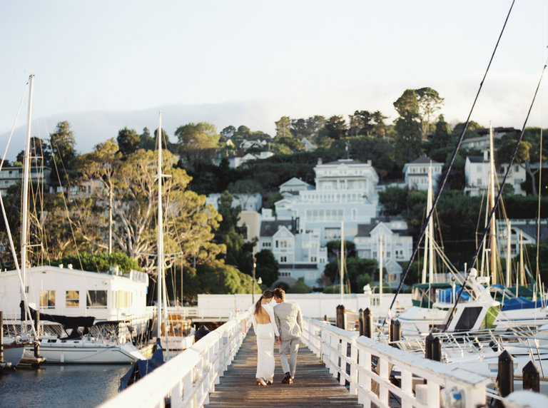 wedding docks