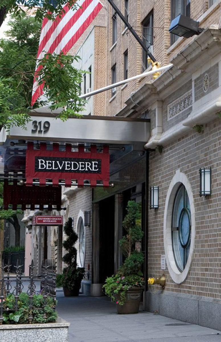 Belvedere Hotel Manhattan Attraction Near The Mansfield Hotel