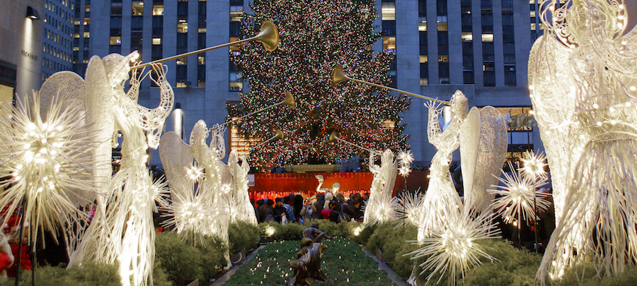 Christmas Tree Lighting - Rockefeller Center