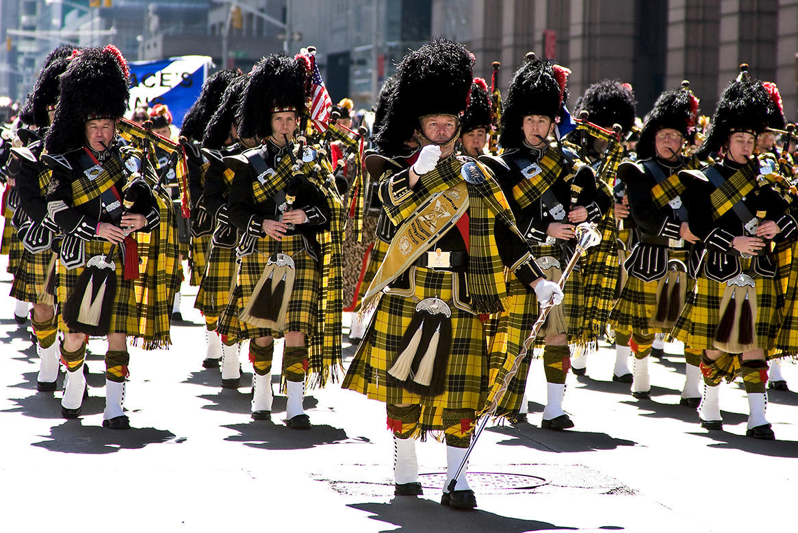 New York City's Tartan Day Parade