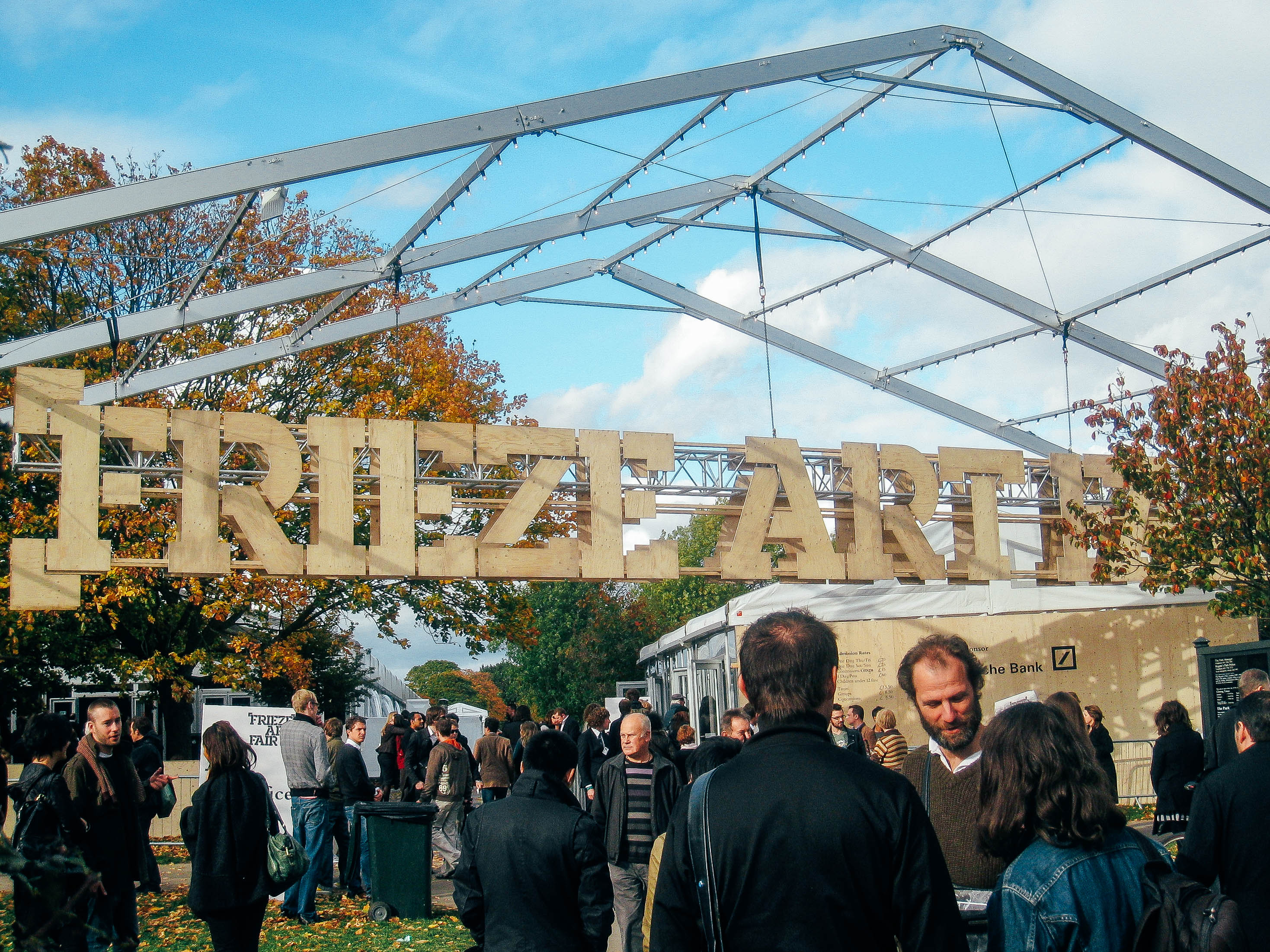 Frieze Art Fair on Randall's Island