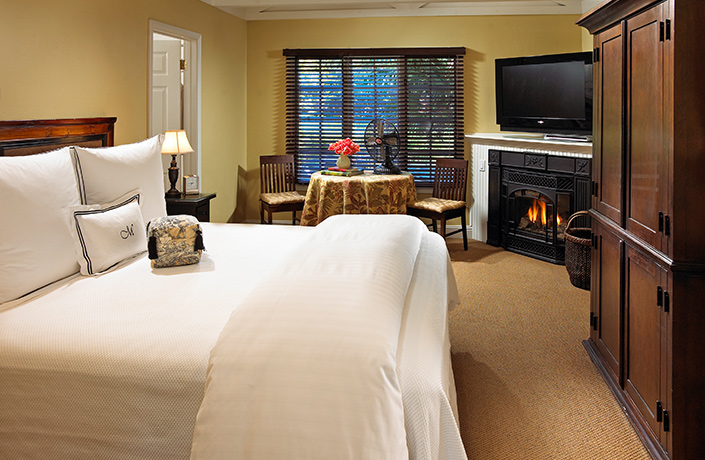 Milliken King Spa Guestrooms
