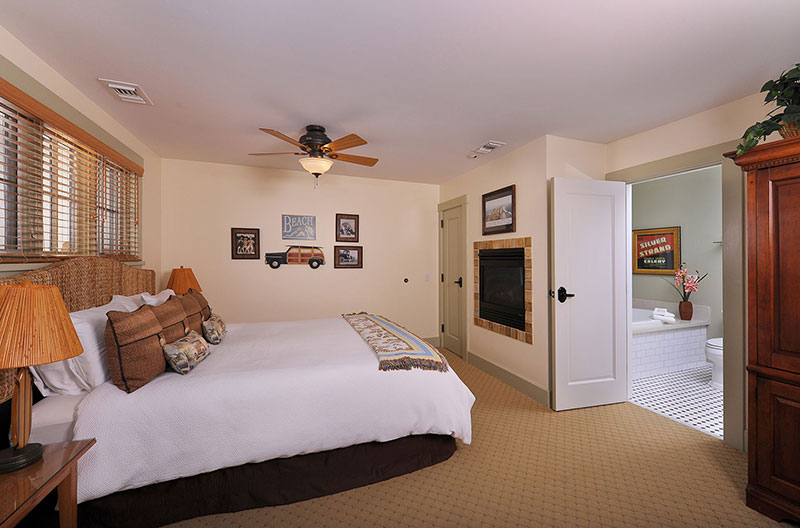 Garden King Spa Guestrooms in San Diego | 1906 Lodge