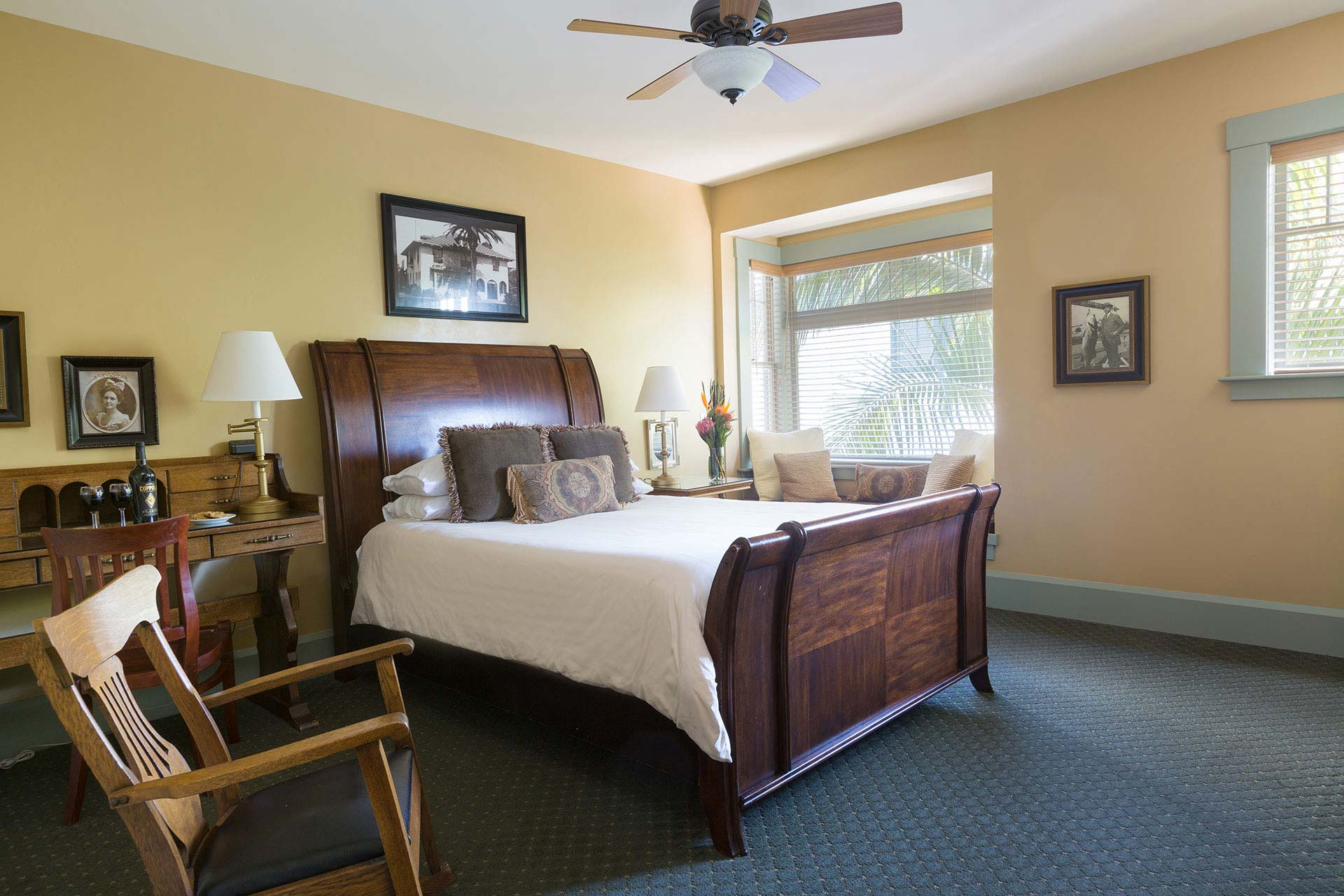 Historic Lodge King Guestrooms in San Diego | 1906 Lodge