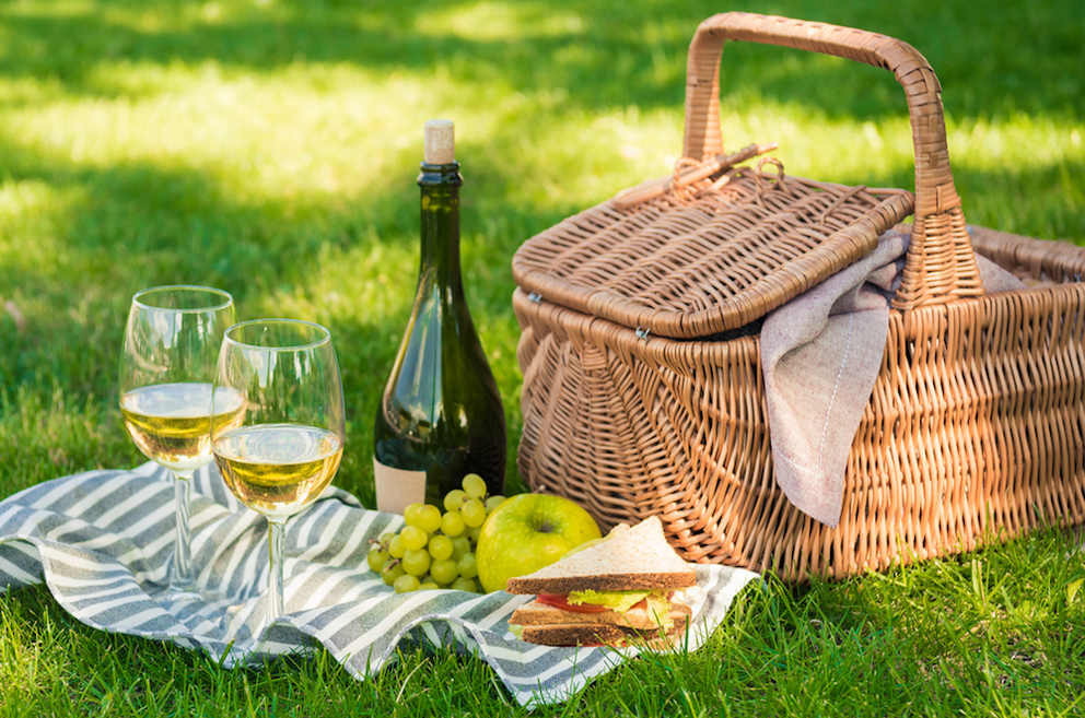 How to Pack the Perfect Picnic for a Day of Wine Tasting