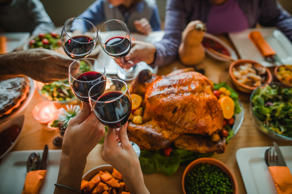 Where to Celebrate Thanksgiving in the Napa Valley