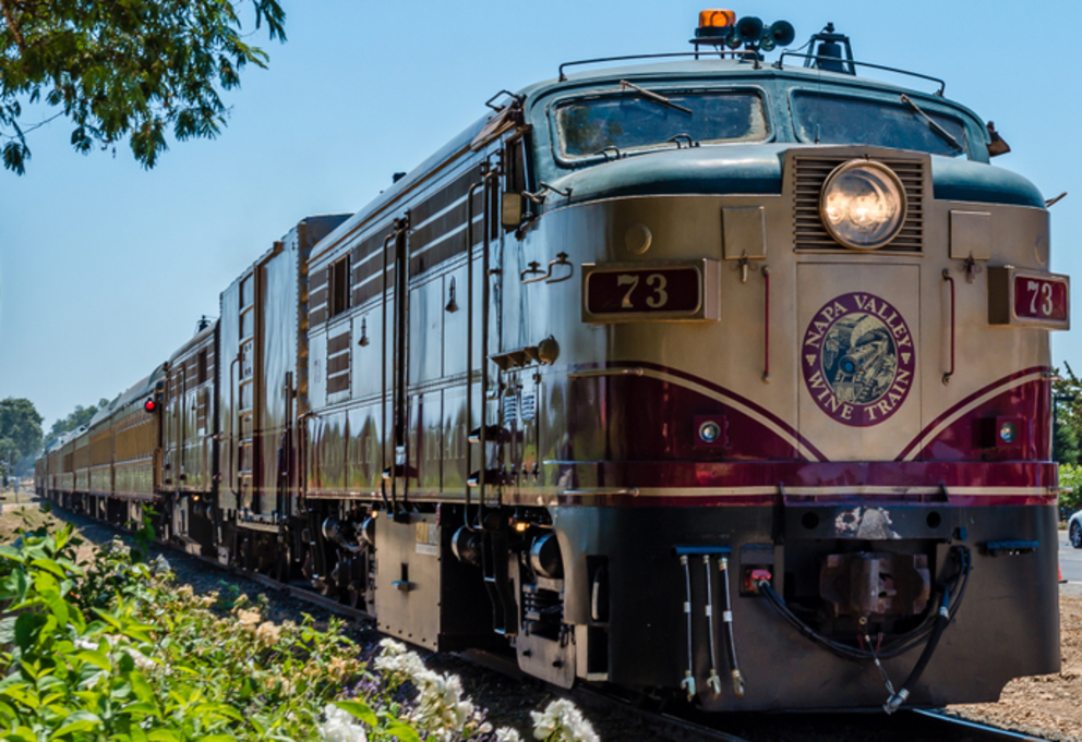 Wine and Dine Aboard the Napa Valley Wine Train